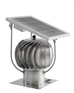 Turbowent hybrydowy - solarny 1